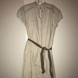 Vintage Tan Dress